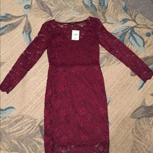 Ambiance Lace Short Dress